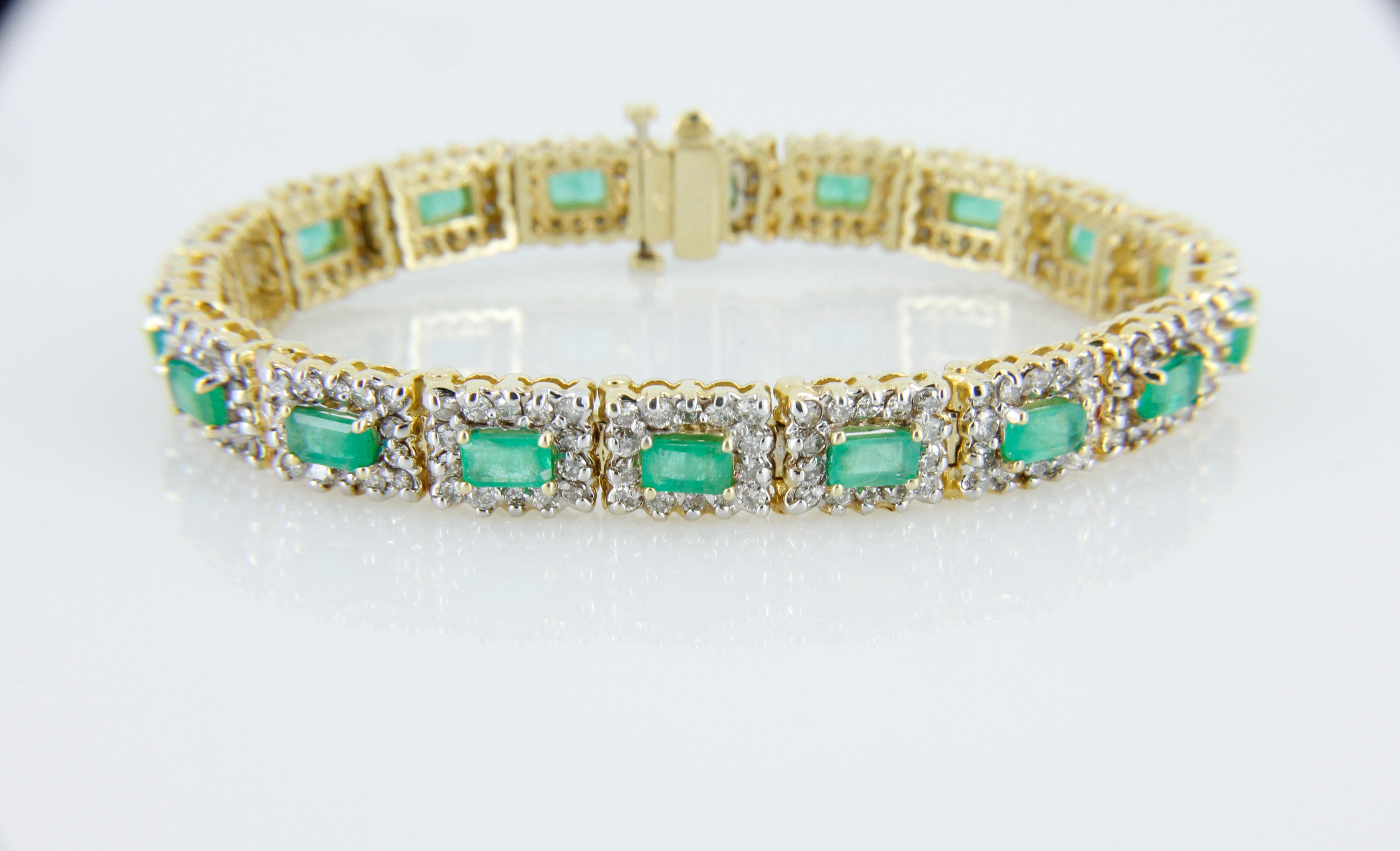 emerald and bracelet forge jewelry works