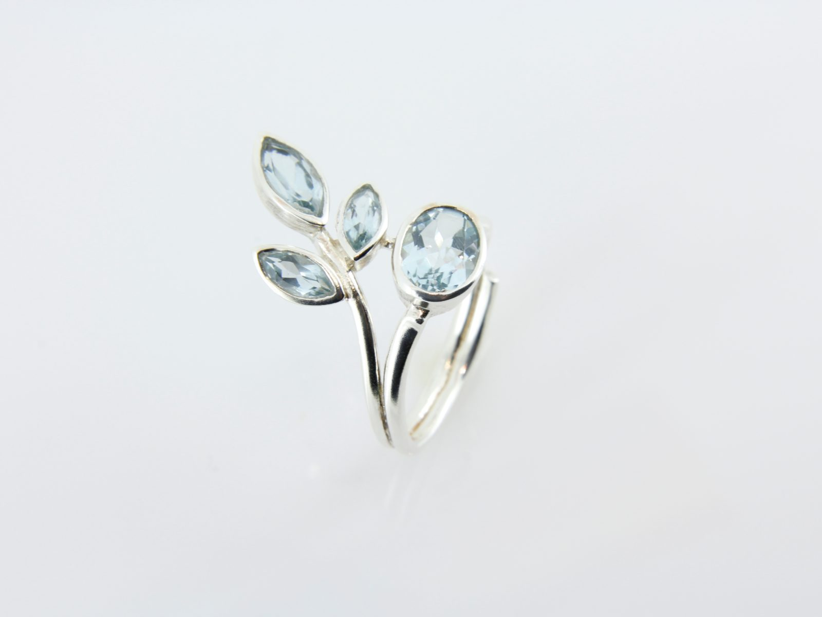 blue topaz 925 ss ring forge jewelry works
