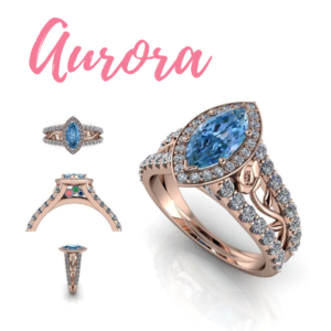Disney Princess Inspired Rings Forge Jewelry Works